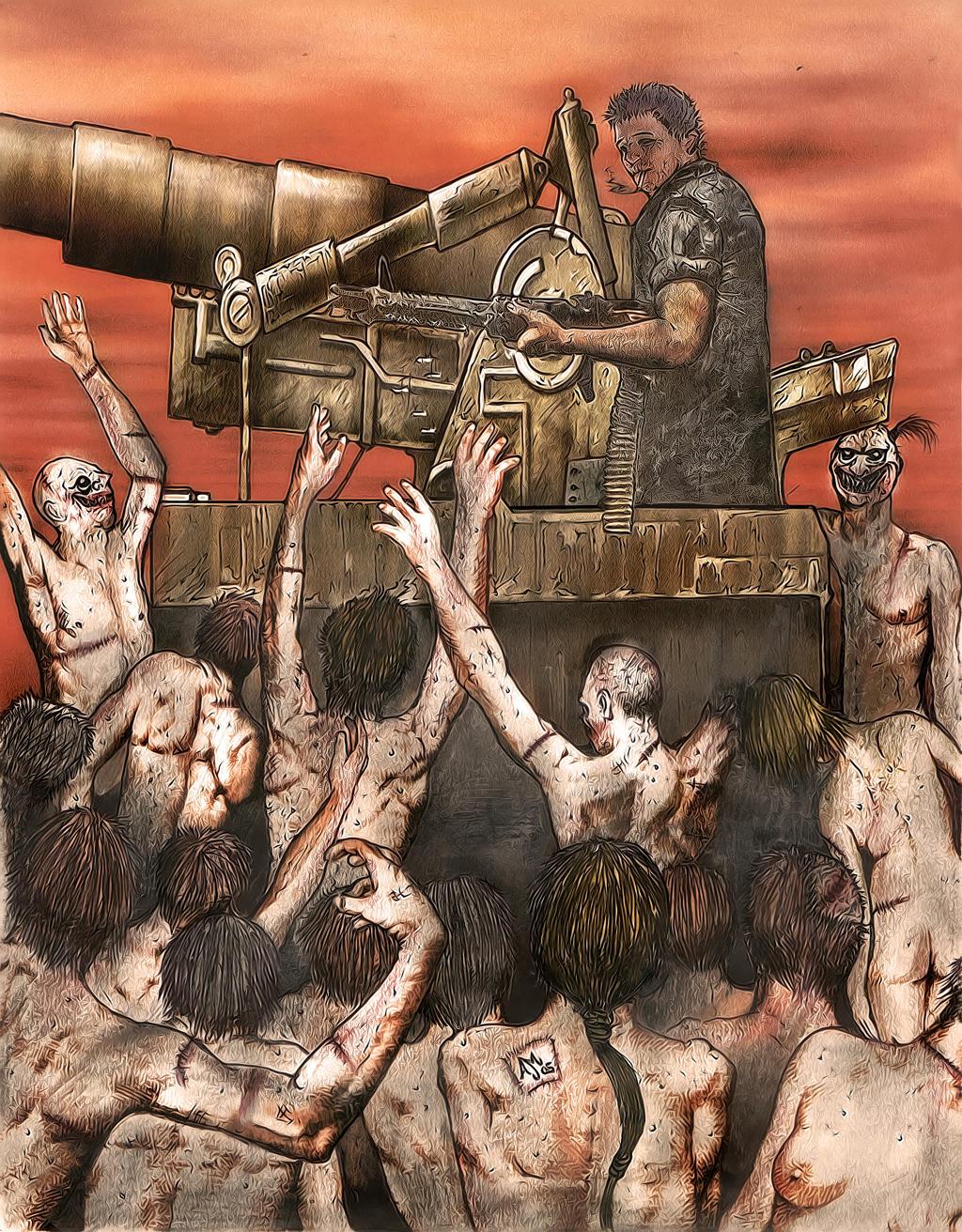 Zombie Horde Art Zombie horde by...
