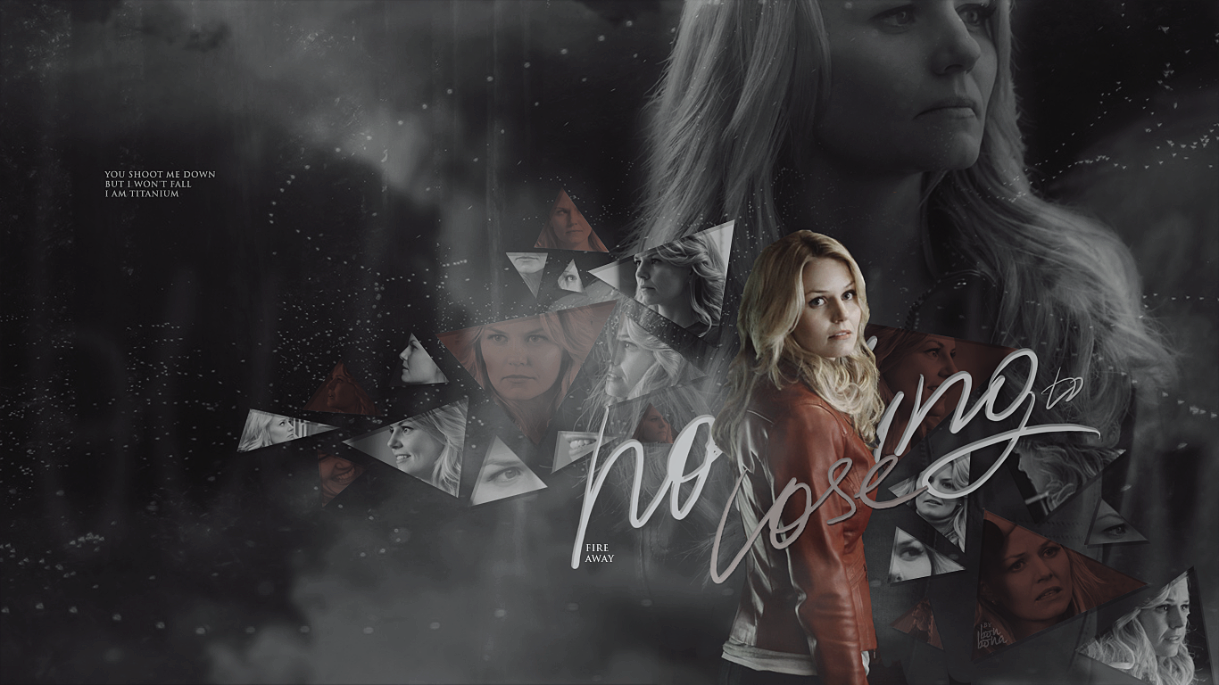 Emma Swan 'Tita... Once Upon A Time Wallpaper Captain Swan