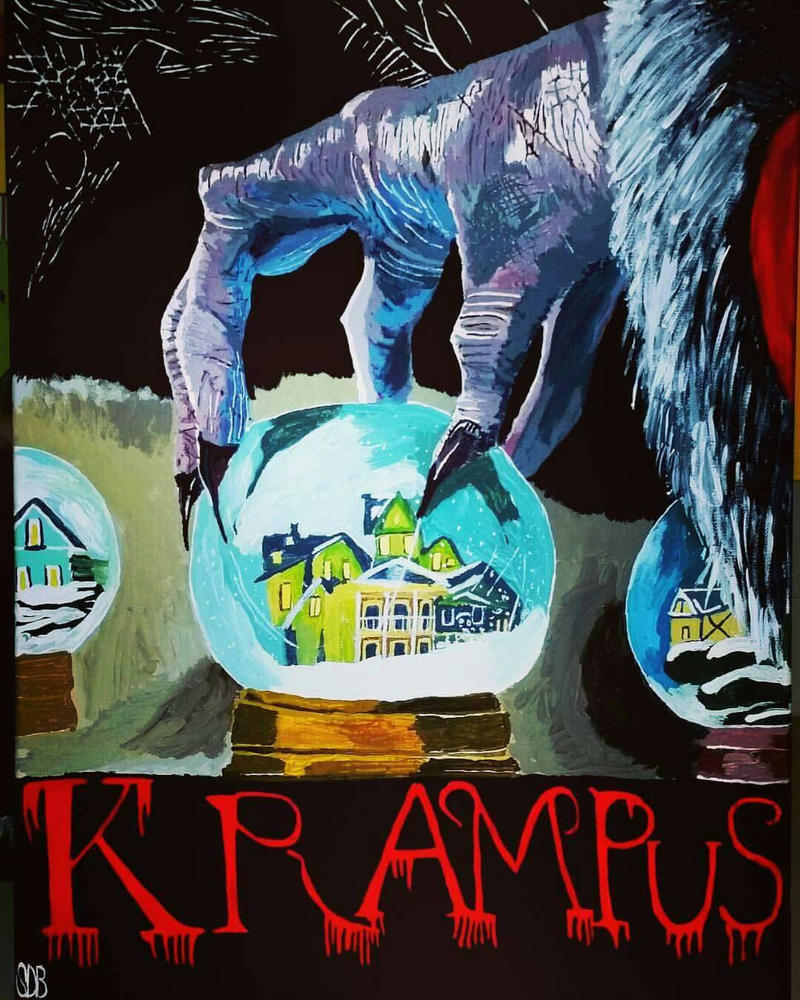Krampus In Acrylic (Oldie but goodie of 2016) by WowLovely88