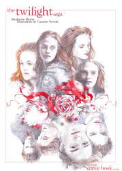 Illustration of the saga F.m by YasmineNevola
