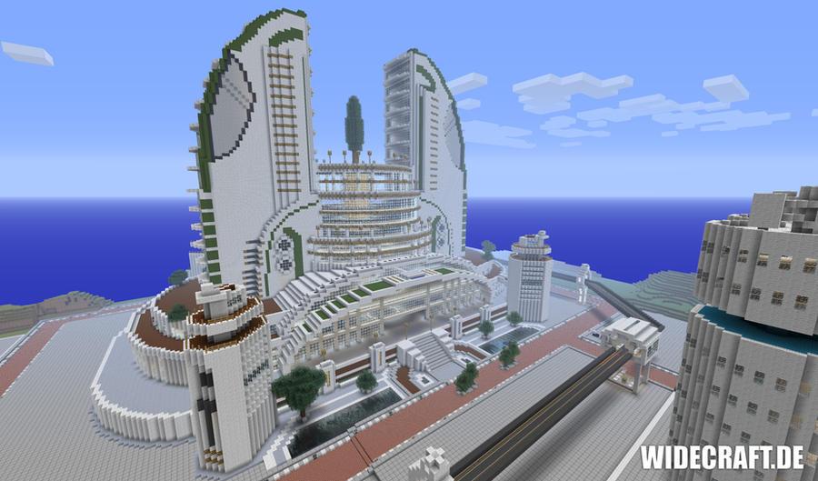 Minecraft epic megabuilding by sourcemaker on deviantart for Anno 2070 find architect