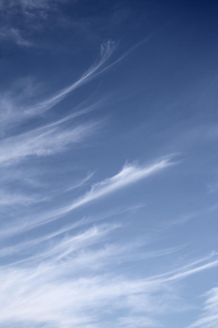 Cirrus Clouds Can Sometimes Naturally Seed Lower Clouds Beneath Them