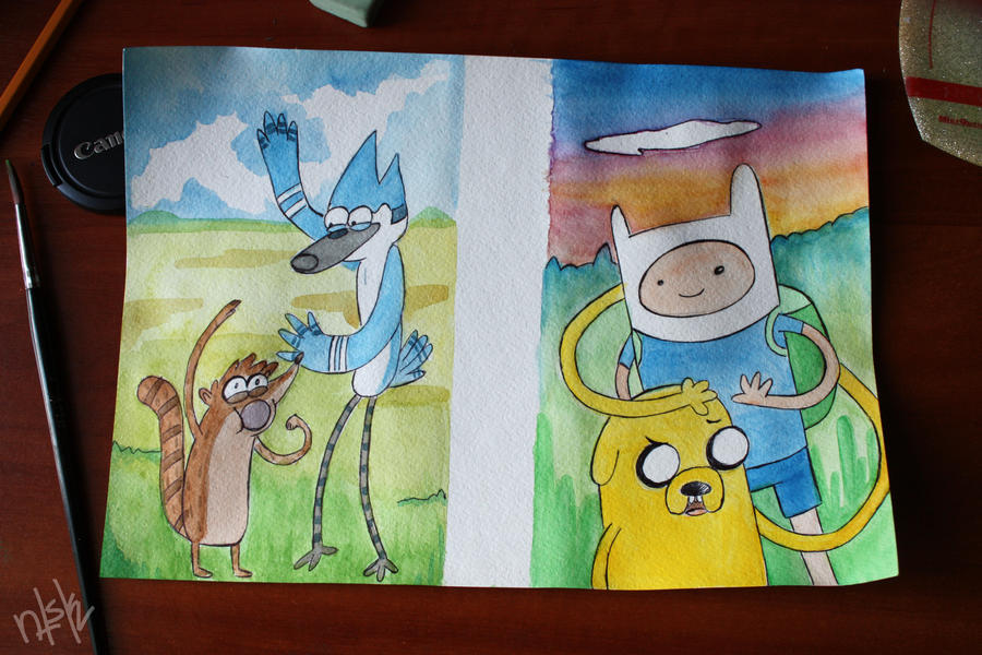 oooooh! watercolour time! by netsku