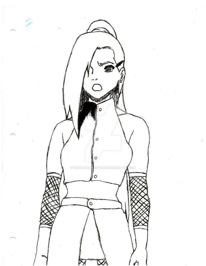 Ino Sketch by CromeTheHedgepire