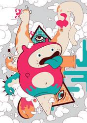 Weird creatures by XyriosGames