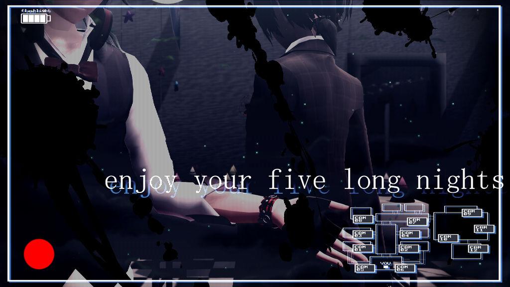 MMD x FNAF] Enjoy your five long nights by RubyRain19 on