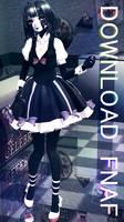 [MMD x FNAF2] TDA Marionette Model (Back up!) by RubyRain19