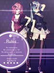 [MMD] Lucid Miku and Teto Model DL
