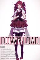 [MMD x FNAF SL] TDA Baby Model download by RubyRain19