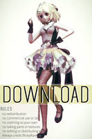 [MMD x FNAF SL] TDA Minireenas Model download by RubyRain19