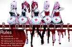 [MMD] Blood Drive series by RubyRain19