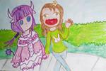Kanna and Saikawa