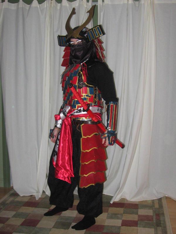Samurai Halloween Costume I by singlet on DeviantArt