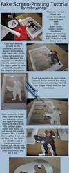 Fake Screen-Printing Tutorial by mihoyonagi
