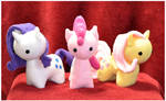 MLP - Itsy-Pony Plush - Three Tiny Ladies