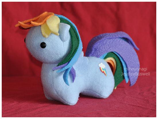 Itsy-Pony - Rainbow Dash by mihoyonagi