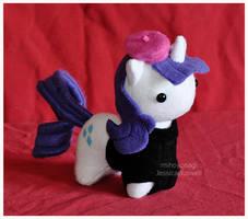 Commission - Itsy-Pony - Hipster/Beatnik Rarity 2 by mihoyonagi
