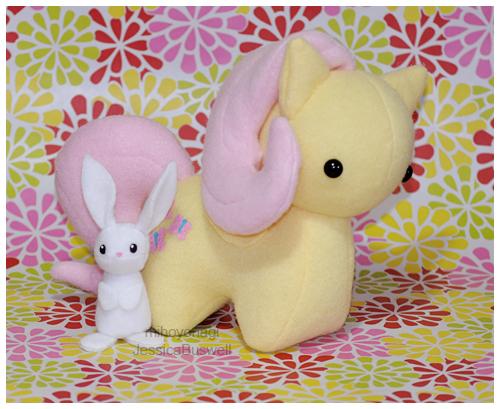 Commission - MLP Itsy-Pony Fluttershy V3 by mihoyonagi