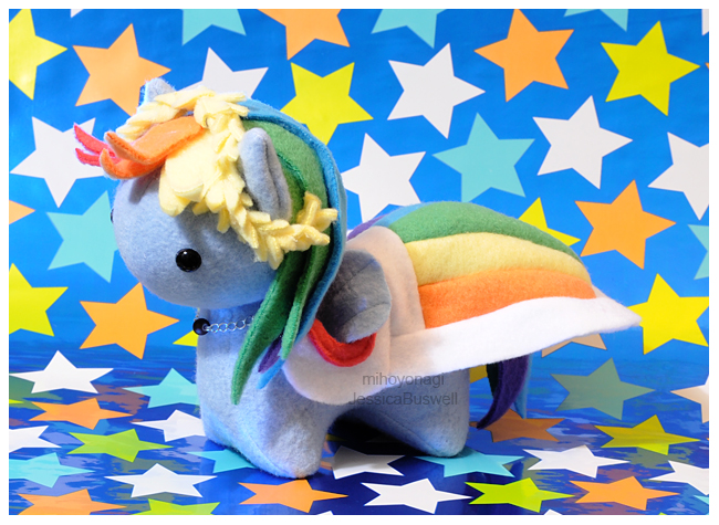 MLP - Itsy-Pony Grand Galloping Gala Rainbow Dash by mihoyonagi