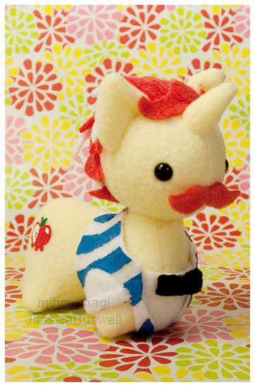 Commission - MLP Itsy-Ponies Flim+Flam - Closeup by mihoyonagi