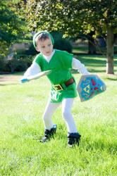 Kid Link Cosplay by mihoyonagi