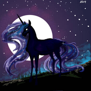 On a lunar night by dsagoa