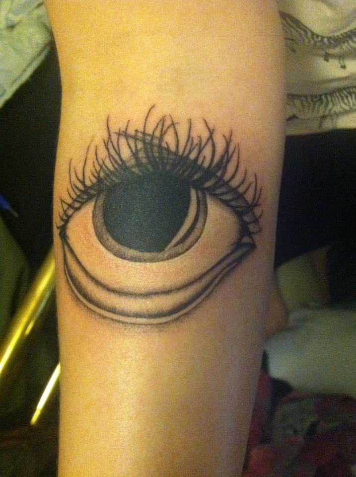 Eye Tattoo by clearfishink