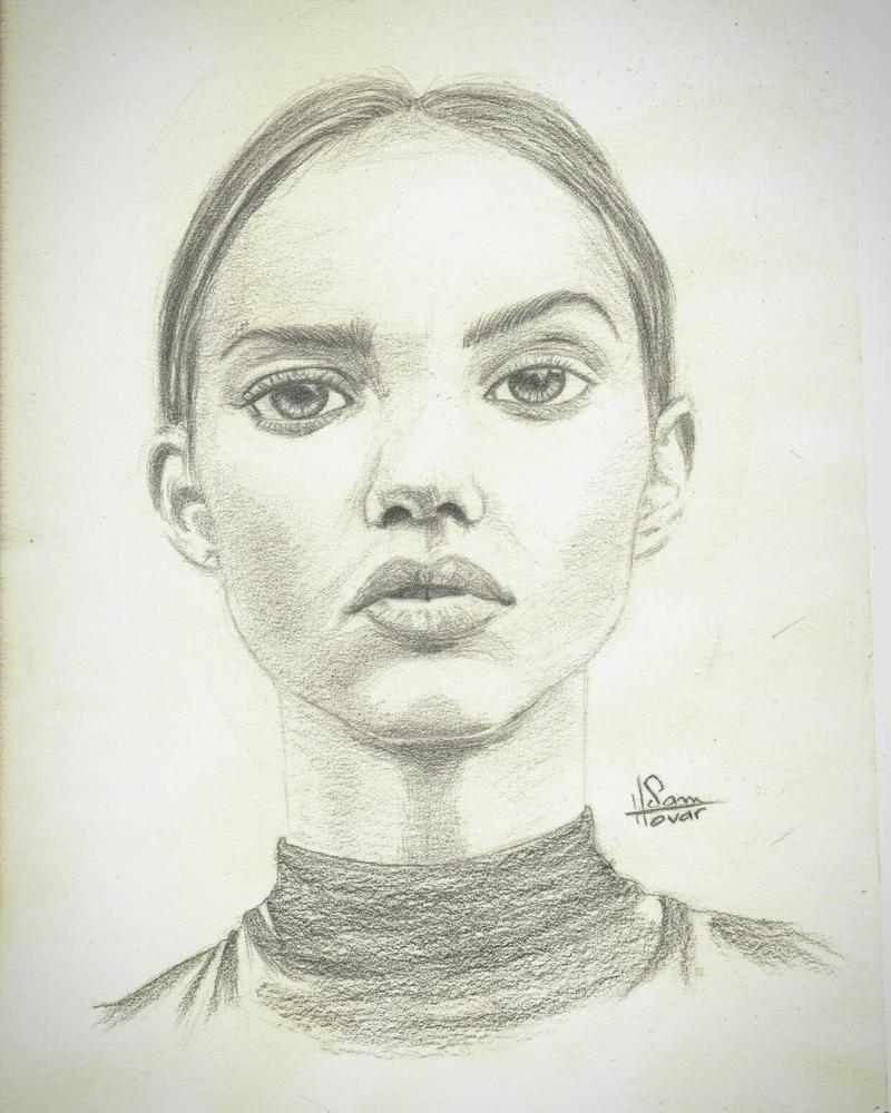 retrato de Inka Williams - Sam Tovar by samtgo7