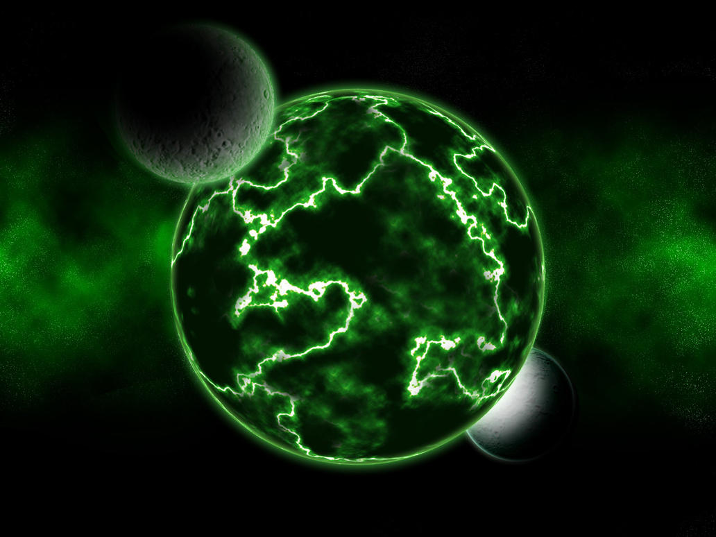 Green space by revenant42 on deviantart - Space wallpaper green ...
