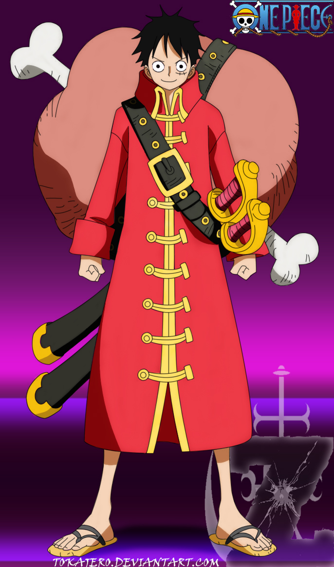 Monkey D Luffy Z By Tokajero On Deviantart