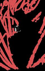 Fairy Tail Lineart : Blaze Dragon King Mode! by tokajero