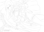 Fairy Tail Lineart : Eileen Belserion 483!