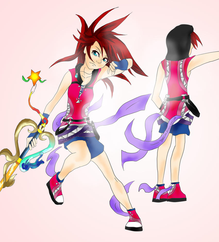 Kairi Kingdom Hearts Keyblade