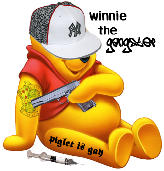 winnie the gangster by pivotanimator on DeviantArt