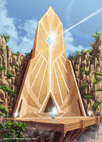 Light Temple by GunshipRevolution