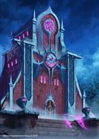 Darkness Temple by GunshipRevolution