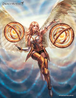 Lightglobe Angel by GunshipRevolution
