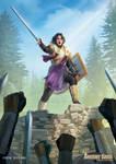 Auron, the Golden Knight