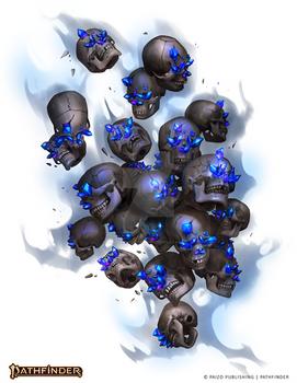 Clacking Skulls Swarm Sorcerous