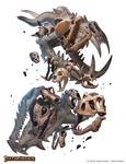 Clacking Skulls Swarm Savage