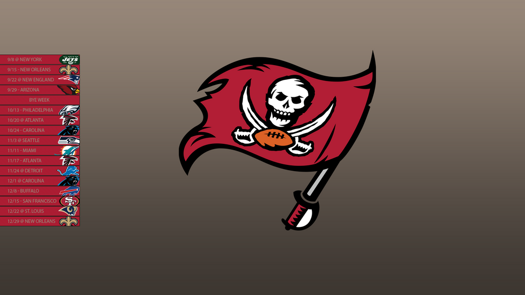 Tampa Bay Buccaneers 2013 Schedule Wallpaper by SevenwithaT on ...