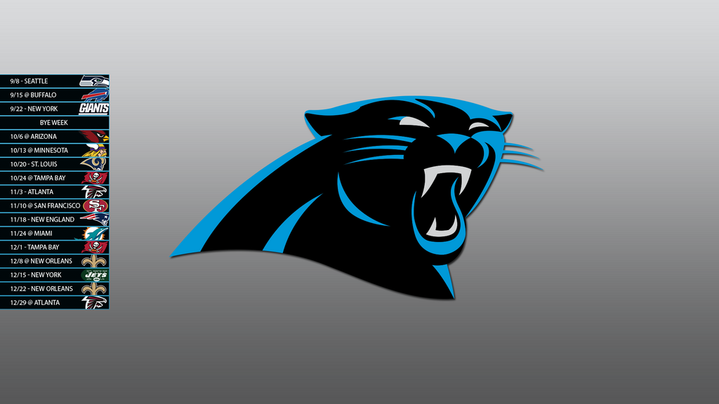 Carolina panthers 2013 schedule wallpaper by sevenwithat - Carolina panthers mobile wallpaper ...
