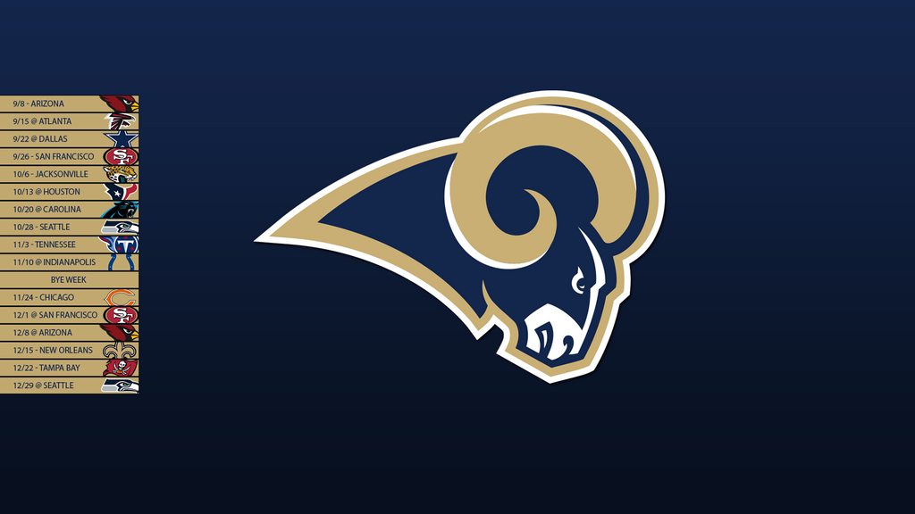 st louis rams 2013 schedule wallpaper by sevenwithat on