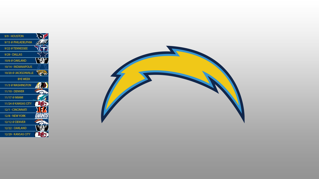 san diego chargers 2013 schedule wallpaper by sevenwithat on deviantart