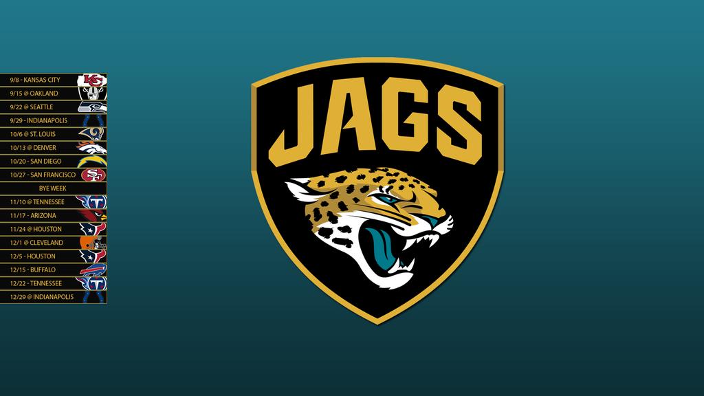 Jacksonville Jaguars 2013 Schedule Wallpaper by SevenwithaTJacksonville Jaguars Wallpaper 2013