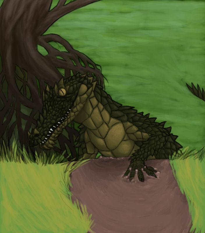Swamp Dragon by Athenas-Owl