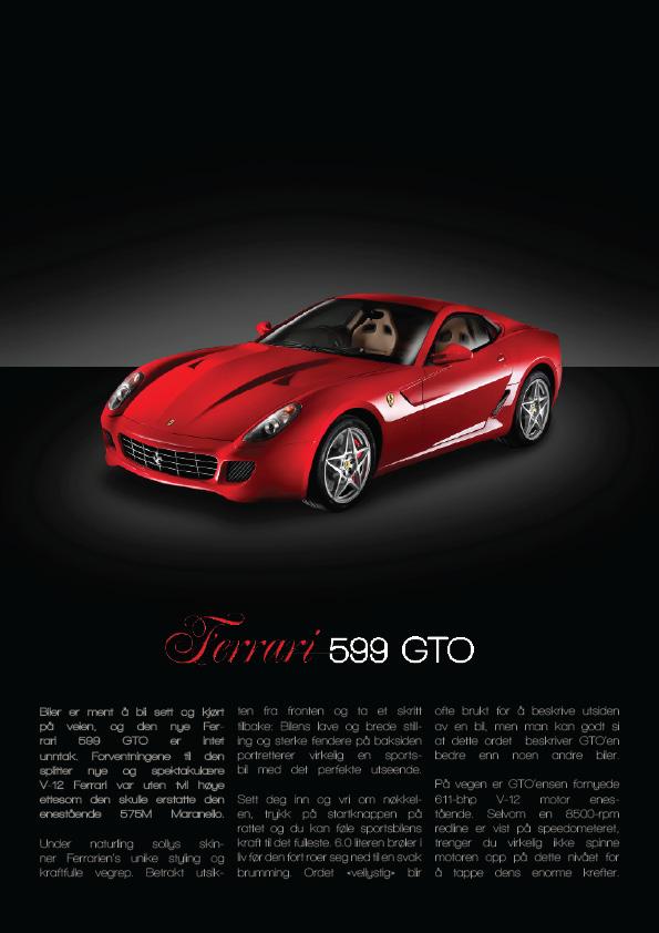 Ferrari Advert By Xdeedee On Deviantart