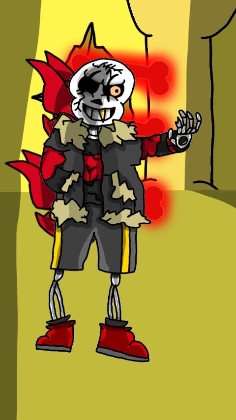 Thunderfell Shaun (pacifist) by ShaunBones42