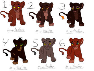 Point adopts simple cubs by SharTLK