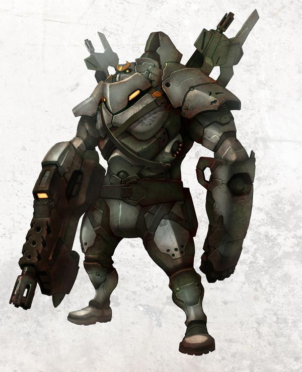 robot 02 by thaigraff